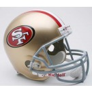 San Francisco 49ers NFL Riddell Deluxe Replica Full Size Football Helmet