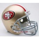 San Francisco 49ers NFL Riddell Deluxe Replica Full Size Football Helmet