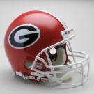 Georgia Bulldogs NCAA Riddell Pro Line Authentic Full Size Football Helmet From Riddell by