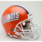 Illinois Fighting Illini NCAA Pro Line Authentic Full Size Football Helmet From Riddell by
