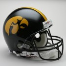 Iowa Hawkeyes NCAA Pro Line Authentic Full Size Football Helmet From Riddell