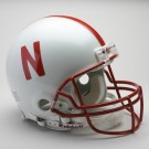 Nebraska Cornhuskers NCAA Riddell Pro Line Authentic Full Size Football Helmet From Riddell