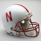 Nebraska Cornhuskers NCAA Riddell Pro Line Authentic Full Size Football Helmet From Riddell