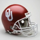 Oklahoma Sooners NCAA Pro Line Authentic Full Size Football Helmet From Riddell by