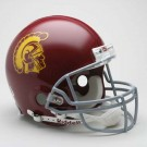 USC Trojans NCAA Riddell Pro Line Authentic Full Size Football Helmet From Riddell