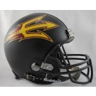 Arizona State Sun Devils NCAA Pro Line Authentic Full Size Football Helmet From Riddell (Black)