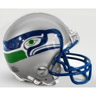 Seattle Seahawks 1983-2001 Riddell Throwback Mini Helmet