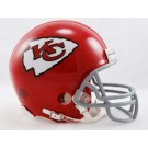 1963 - 1973 Kansas City Chiefs Z2B Throwback Replica Mini Helmet from Riddell