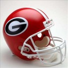 Georgia Bulldogs NCAA Riddell Full Size Deluxe Replica Football Helmet