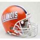 Illinois Fighting Illini NCAA Riddell Full Size Deluxe Replica Football Helmet