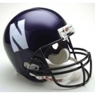 Northwestern Wildcats NCAA Riddell Full Size Deluxe Replica Football Helmet by