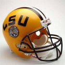 Louisiana State (LSU) Tigers NCAA Riddell Full Size Deluxe Replica Football Helmet