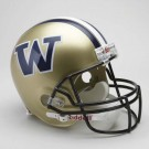 Washington Huskies NCAA Riddell Full Size Deluxe Replica Football Helmet
