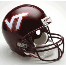 Virginia Tech Hokies NCAA Riddell Full Size Deluxe Replica Football Helmet