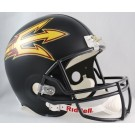 Arizona State Sun Devils NCAA Riddell Full Size Deluxe Replica Football Helmet (Black)