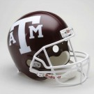 Texas A & M Aggies NCAA Riddell Full Size Deluxe Replica Football Helmet