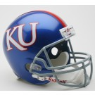 Kansas Jayhawks NCAA Riddell Full Size Deluxe Replica Football Helmet
