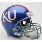 Kansas Jayhawks NCAA Riddell Full Size Deluxe Replica Football Helmet