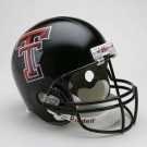 Texas Tech Red Raiders NCAA Riddell Full Size Deluxe Replica Football Helmet
