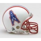 Houston Oilers NFL Riddell Replica Mini Throwback Football Helmet  (1981 - 1996)