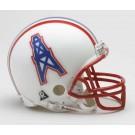 Houston Oilers NFL Riddell Replica Mini Throwback Football Helmet  (1981 - 1996)