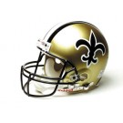 "New Orleans Saints (1976 - 1999) Riddell Full Size ""Old Style Throwback"" Authentic Football Helmet"