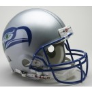 "Seattle Seahawks (1983 - 2001) Riddell Full Size ""Old Style Throwback"" Authentic Football Helmet"