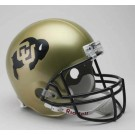 Colorado Buffaloes NCAA Riddell Full Size Deluxe Replica Football Helmet