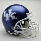 Kentucky Wildcats NCAA Pro Line Authentic Full Size Football Helmet From Riddell by