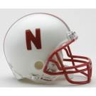 Nebraska Cornhuskers NCAA Riddell Replica Mini Football Helmet