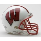 Wisconsin Badgers NCAA Riddell Replica Mini Football Helmet