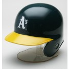Oakland Athletics MLB Replica Left Flap Mini Batting Helmet From Riddell
