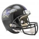Baltimore Ravens NFL Riddell Full Size Deluxe Replica Football Helmet