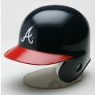 Atlanta Braves MLB Replica Left Flap Mini Batting Helmet From Riddell