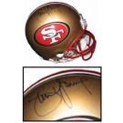 Steve Young Autographed San Francisco 49ers Official Riddell Current Logo Pro Line Helmet