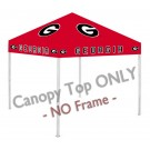 Georgia Bulldogs Canopy Top for use with the Rivalry 9' x 9' Ultimate Tailgate Canopy Tent... by