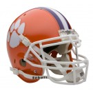 Clemson Tigers NCAA Mini Authentic Football Helmet From Schutt