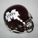 Mississippi State Bulldogs NCAA Schutt Full Size Authentic Football Helmet by