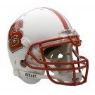 North Carolina State Wolfpack NCAA Schutt Full Size Authentic Football Helmet by
