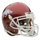 Arkansas Razorbacks NCAA Mini Authentic Football Helmet From Schutt