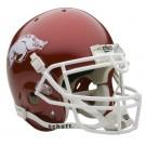 Arkansas Razorbacks NCAA Mini Authentic Football Helmet From Schutt