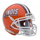 Illinois Fighting Illini NCAA Mini Authentic Football Helmet From Schutt