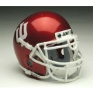 Indiana Hoosiers NCAA Mini Authentic Football Helmet From Schutt