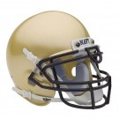 Navy Midshipmen NCAA Mini Authentic Football Helmet From Schutt