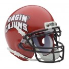 Louisiana (Lafayette) Ragin' Cajuns NCAA Mini Authentic Football Helmet From Schutt