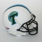 Tulane Green Wave NCAA Mini Authentic Football Helmet From Schutt