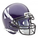 Northwestern Wildcats NCAA Mini Authentic Football Helmet From Schutt by