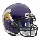 Western Illinois Leathernecks NCAA Mini Authentic Football Helmet From Schutt