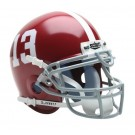 Alabama Crimson Tide NCAA Mini Authentic Football Helmet From Schutt