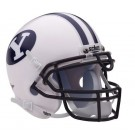 Brigham Young University Cougars NCAA Mini Authentic Football Helmet From Schutt